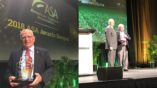 Jim Dunphy Wins the First Ever American Soybean Association Pinnacle Award