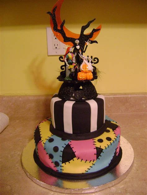 23 best images about nightmare before christmas cakes on