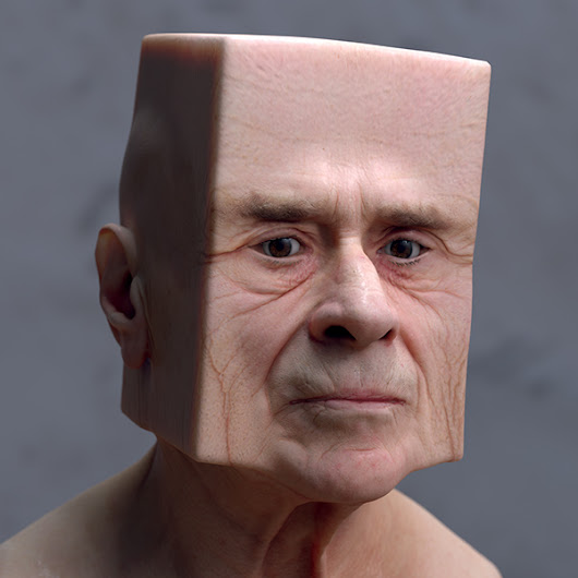 Distorted 3D-Scanned Faces Are the Stuff Nightmares Are Made Of | The Creators Project
