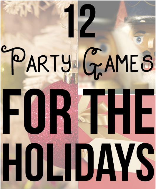 12 Party Games for the Holidays - Gray Cat Games