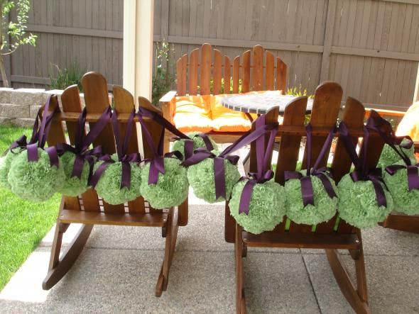 NEED PURPLE PLUM AND GREEN FOR MARCH 2011 WEDDING I have 12 green