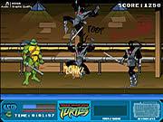 Jogar Teenage mutant ninja turtles foot clan street brawl Jogos