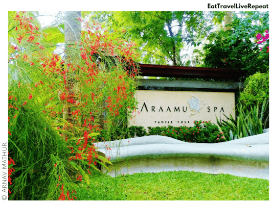 Enjoy getting pampered with a full body massage at Araamu Spa in the Maldives