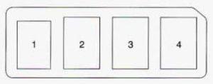 Geo Prizm (1996 - 1997) - fuse box diagram - Auto Genius