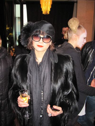 Katharine K. Zarrella at Victor de Souza Fall/10 show