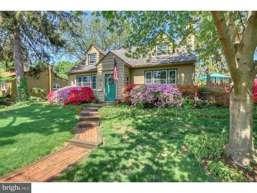 See Charming Doylestown Borough Cape Cod At Sunday Open House