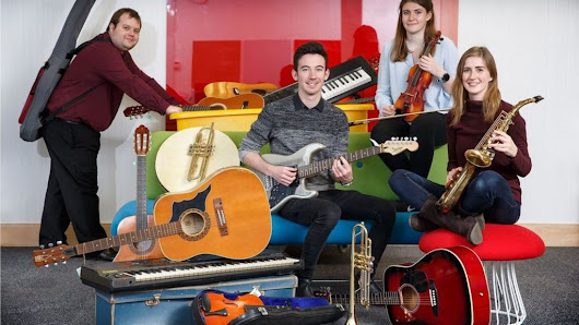 Old instruments sought for musical youth