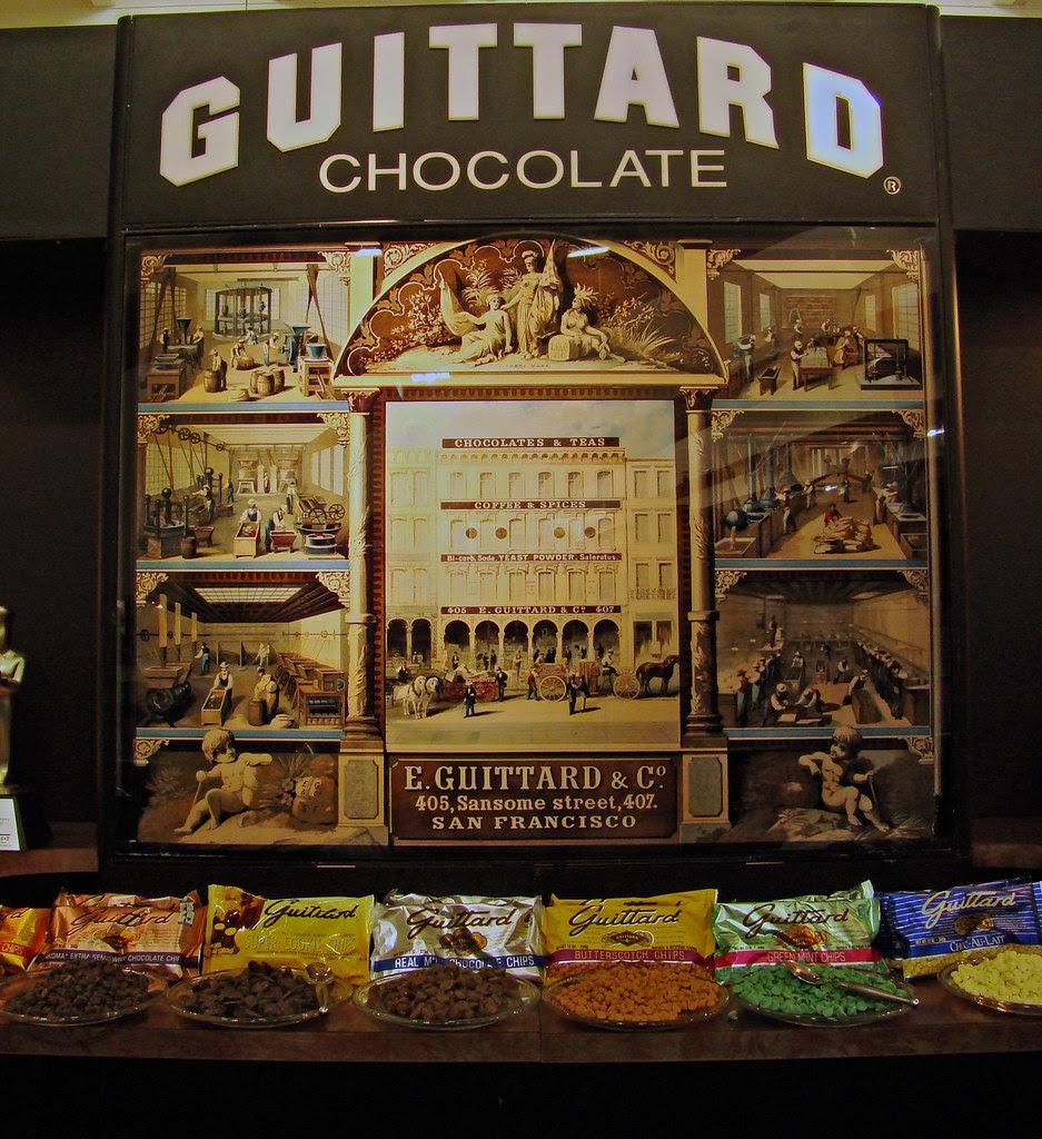 Guittard Chocolate display