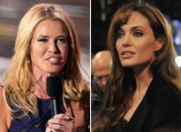 Chelsea Handler Angelina Jolie