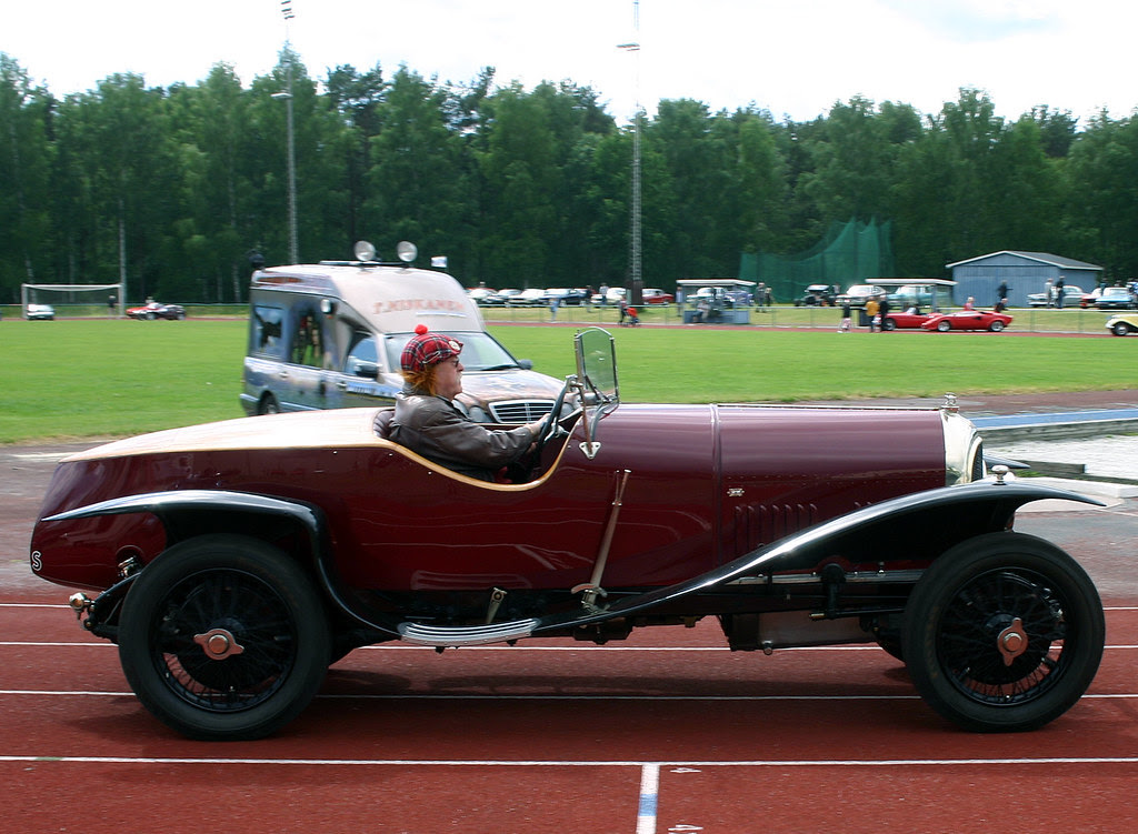 1927 Bentley with Boat tail