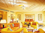 Smart Design Light Living Room With Yellow Color Walls And ...