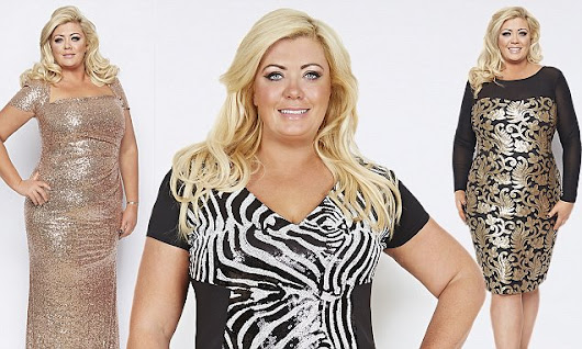 Gemma Collins models new collection