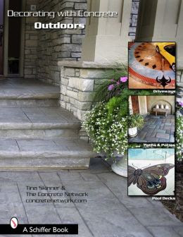BARNES & NOBLE | Decorating with Concrete Outdoors: Driveways ...