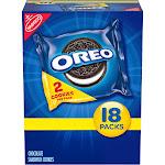 Oreo Chocolate Sandwich Cookies - Multipack - 18ct