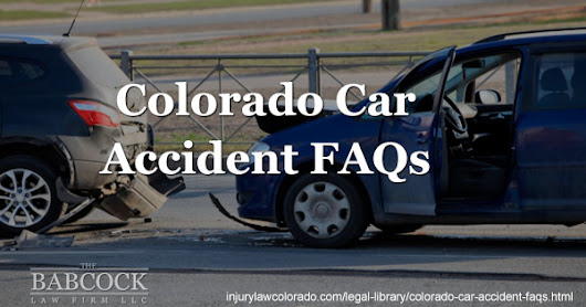 FAQ: Guide to Colorado Car Accidents