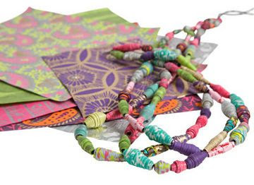 Make your own paper bead jewellery - Better Homes and Gardens - Yahoo!7
