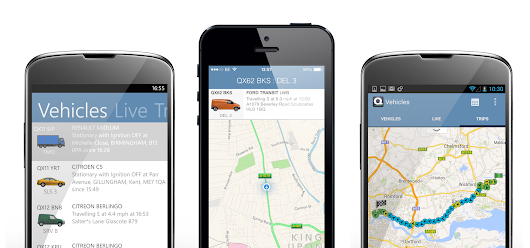 Quartix Vehicle Tracking - Native cross platform mobile asset tracking