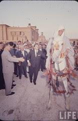 Krushcheve reception in Cairo