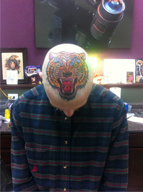 Angry Traditional Tiger Head Tattoo Design Best Tattoo Ideas Gallery