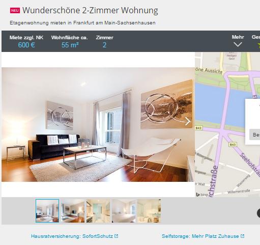 wundersch ne 2 zimmer wohnung walther von cronberg platz 60594. Black Bedroom Furniture Sets. Home Design Ideas