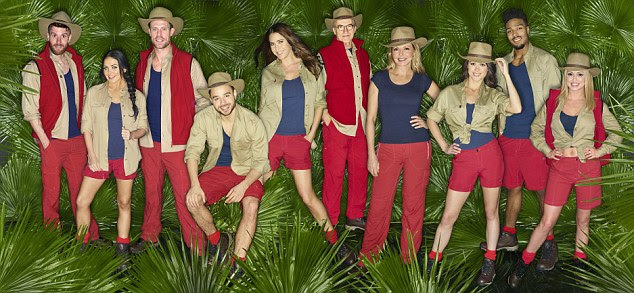 Fresh meat: After months of speculation, the line-up of stars heading into the Australian jungle to battle it out on I'm A Celebrity... Get Me Out Of Here! has been unveiled