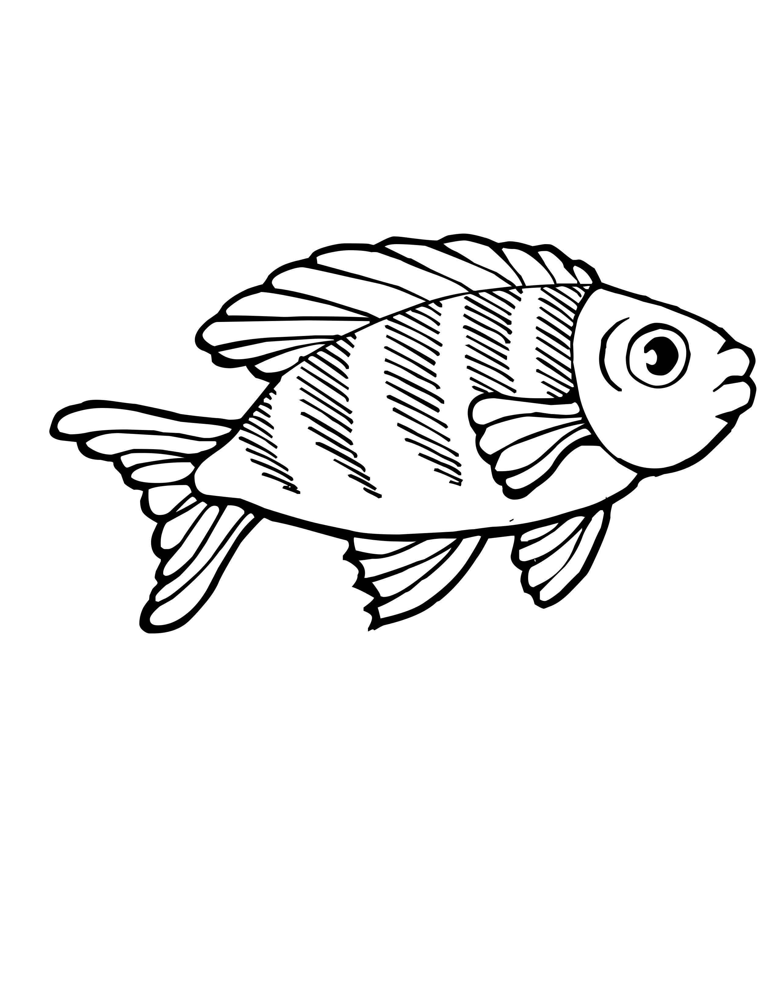 Tropical Fish Coloring Pages | Clipart Panda - Free ...