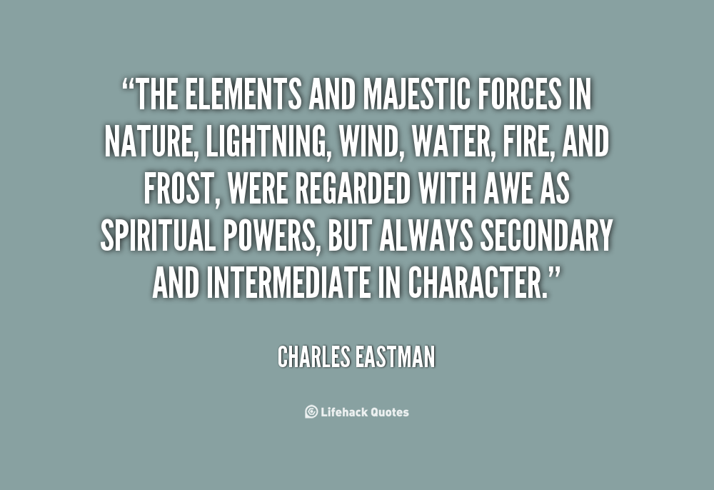 Quotes About Force Of Nature 106 Quotes