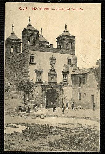 Puerta del Cambrón. Foto Castiñeira y Álvarez hacia 1915