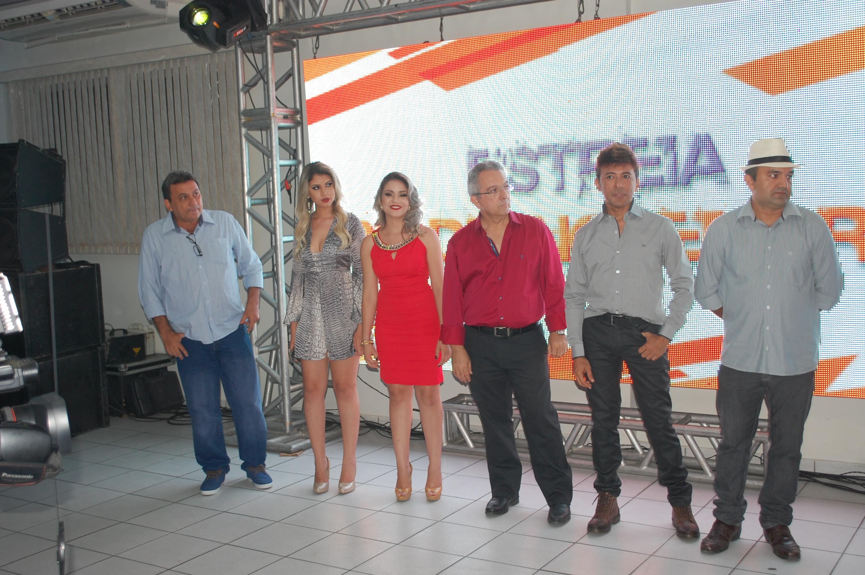 Derosse Mota, Andressa Tchely, Mara Dias, Dr. Gerson Barbosa, Gilvan Santos e Jasiel Medeiros