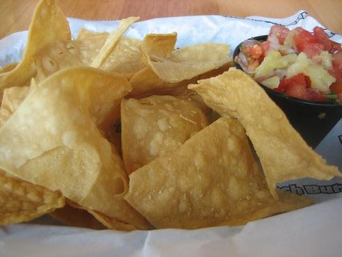 salsa + cornchips