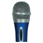 AUDIOP DM212BLUE Unidirectional Dynamic Microphone - Blue
