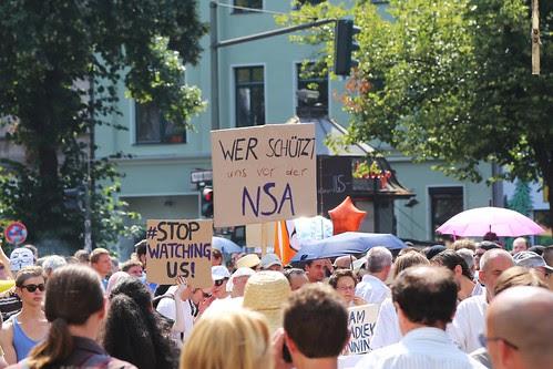 Stop Watching Us, Berlin, 27.07.2013