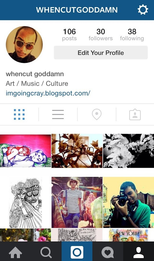 Whencut Goddamn | Introducing my Instagram account for all my work,...