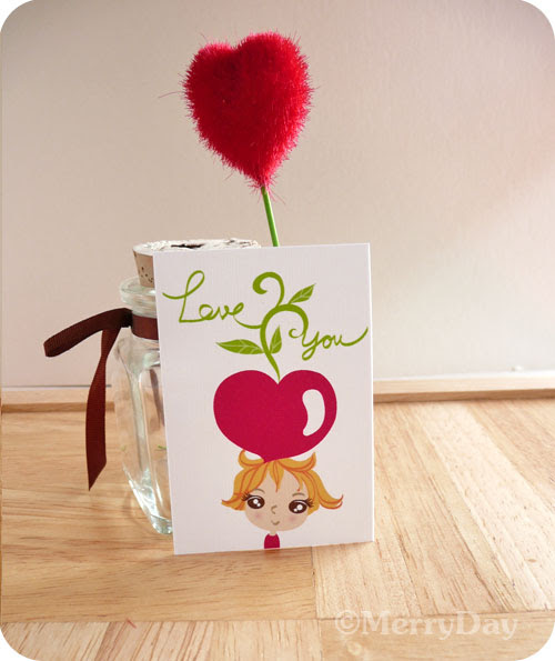Growing My Love For You mini tag