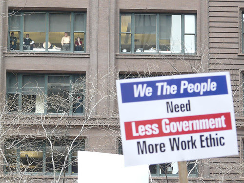 Less Government, More Work Ethic