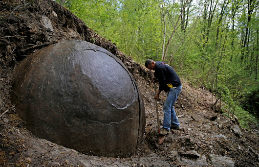 Bosnia's Indiana Jones claims massive stone sphere is sign of ancient civilisation