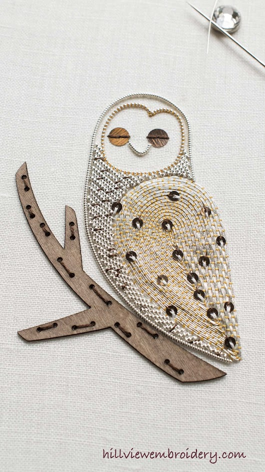 The Little Owl is completed! - Hillview Embroidery