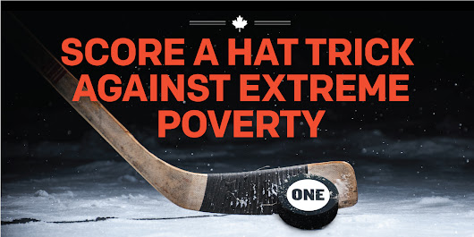 Help Canada Score a Hat Trick Against Extreme Poverty