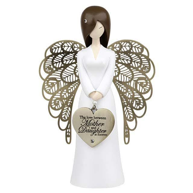 Angel Figurine The Love Between Mother And Daughter Is Forever