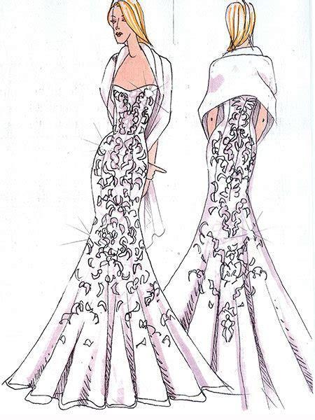 Designers Sketch What Upcoming Celebrity Brides Should
