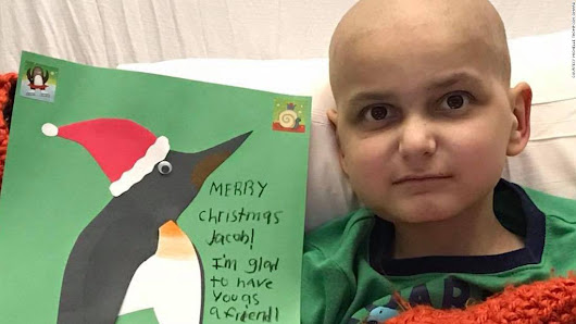 9-year-old with cancer wants cards for his last Christmas - CNN
