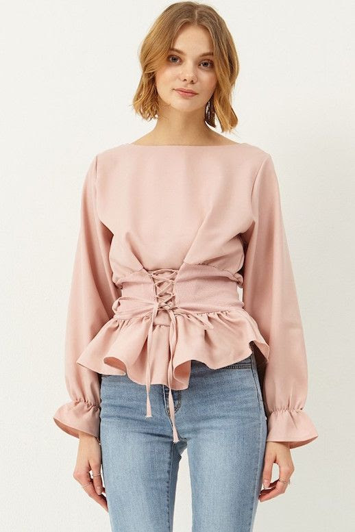 Le Fashion Blog Under $100 Blush Pink Abigail Corest Blouse Via Storets