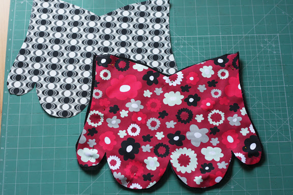Kitchen mitt set tutorial