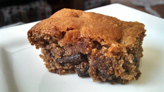 Chocolate Chip Banana Blondies ~ Grain Free Guru