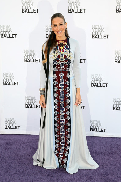 Sarah Jessica Parker Sarah Jessica Parker attends the New York City Ballet 2014 Fall Gala at David H. Koch Theater at Lincoln Center on September 23, 2014 in New York City.