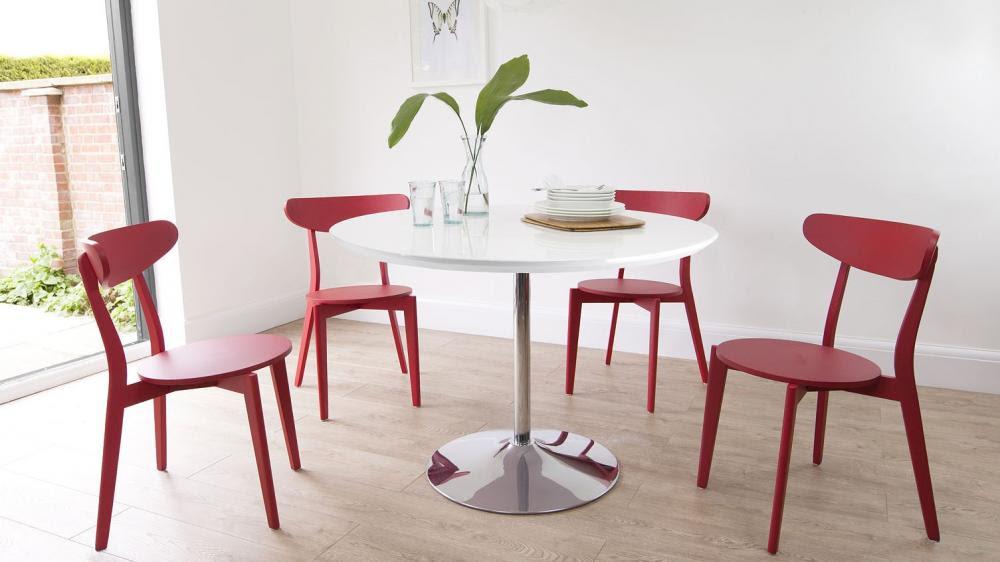 mẫu bàn ăn tròn