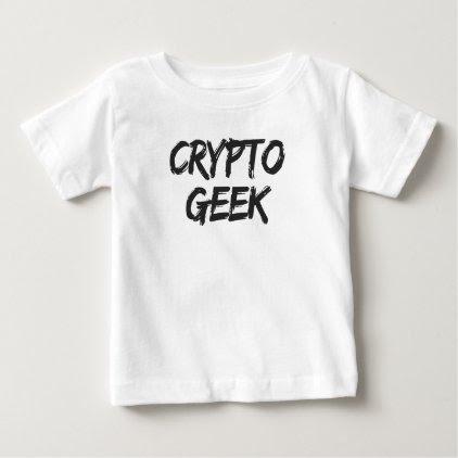 Crypto Geek Print Baby T-Shirt