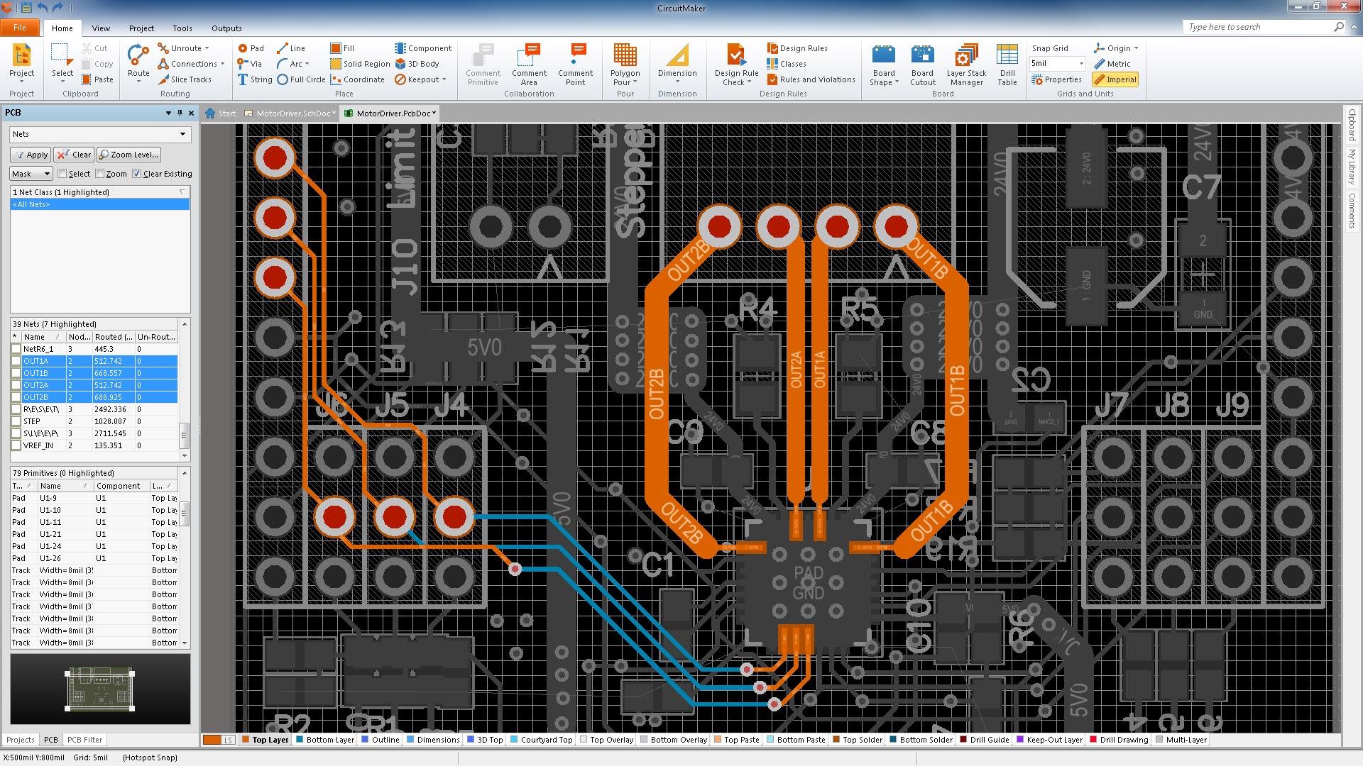 Circuit Board Builder Define Pcb Size Altium