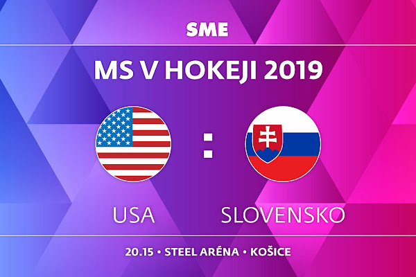 032610a6a21a5 Slovensko : USA - MS v hokeji 2019 - ONLINE - LIVE