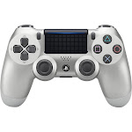 Sony DualShock 4 USB Bluetooth Controller for PS4 - Silver